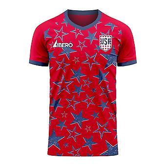 USA 2020-2021 Third Concept Football Kit (Libero)