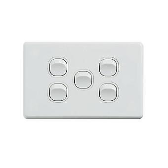 Klassiek 5 Gang Switch 250V 16Ax horizontaal pakket