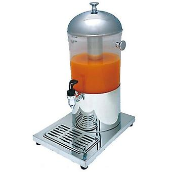 Stainless Steel Single Cylinders Drinking Juice Dispenser,  Cooling Making