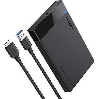 Amoy Hard Drive Enclosure 2.5'' USB 3.0 Hard Disk Case SATA HDD Caddy SSD Reader