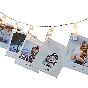Clip Lamp Led String Lights Battery Or Usb Dc 5v Christmas Holiday Party