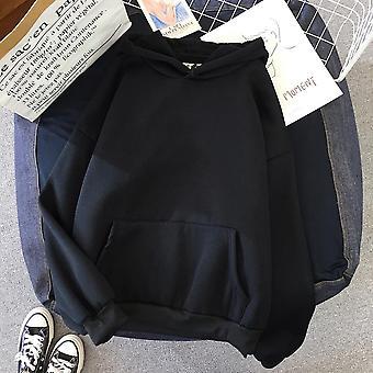 Women Hoodie Velvet Winter Sweatshirt Casual Long Sleeve Hoody
