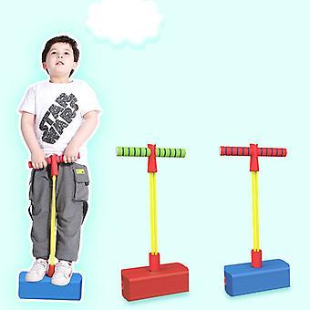 Pogo Stick Jumping Shoes Children's Frog Bouncer Jumping Stilts Bounce Pole Boys Girls Sports Fitness Equipment Kids Toys