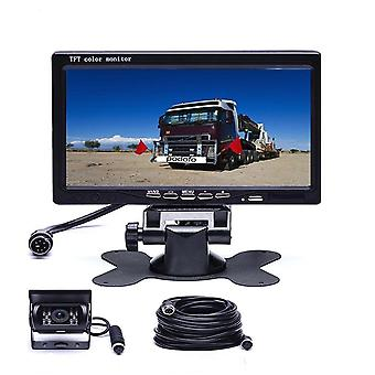 Ir Reversing Camera Lcd Monitor For Truck/bus/van Rear View Kit