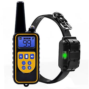 Dog Training Shock Collar For Beep, Vibration And Electric Shocking, Rechargeable And Waterproof Trainer