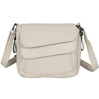 Vinter håndtaske blødt læder luksus designer kvindelige skulder