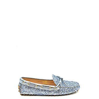 Car Shoe Ezbc029039 Women's Blue Glitter Loafers