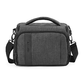 Bagsmart camera bag, camera messenger bag anti-shock with waterproof rain cover for slr/dslr, lenses