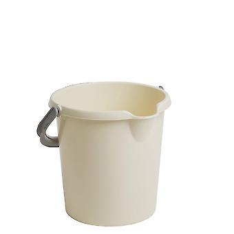 Wham Storage 5 Liter Kapazität kleiner Kunststoffeimer mit Griff
