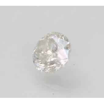 Certificato 1.10 Carat E SI2 Round Brilliant Enhanced Natural Loose Diamond 6.23mm