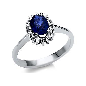 Luna Creation Promessa Ring Color Stone 1U125W451-1 - Largura do anel: 51