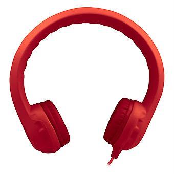 Casque en mousse indestructible Flex-Phones, rouge