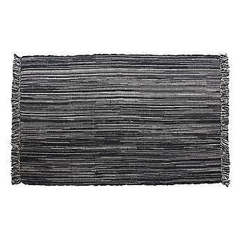 Tapis Dekodonia Black Cotton (230 x 160 cm)