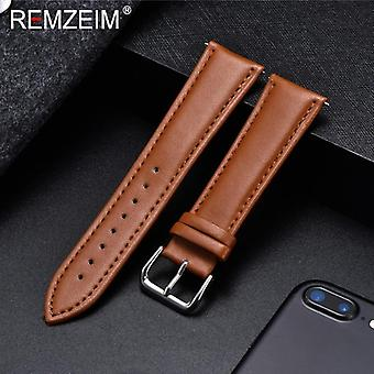 Leather Watchband Soft Material Watch Band Wrist Strap