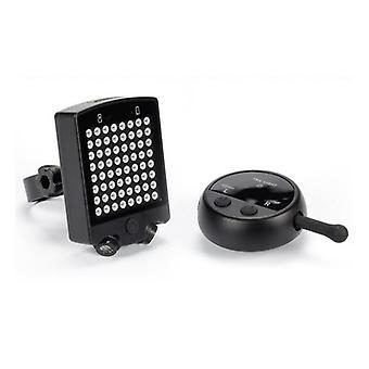 Cykeldysesignal, baglygter med USB-opladning og trådløs smart fjernbetjening