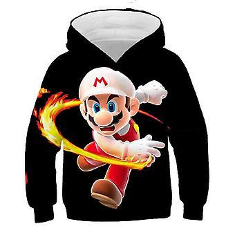 3d Print, Super Mario sarjakuva huppari Set-20