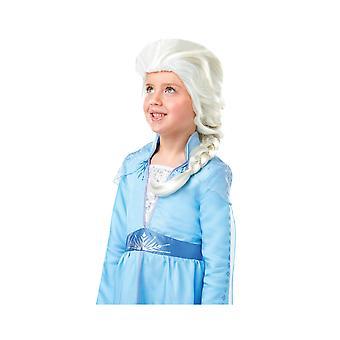 Elsa De Sneeuwkoningin Pruik 2 Meisje