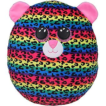 """TY Dotty Leopard Squish-A-Boo 10"""""""