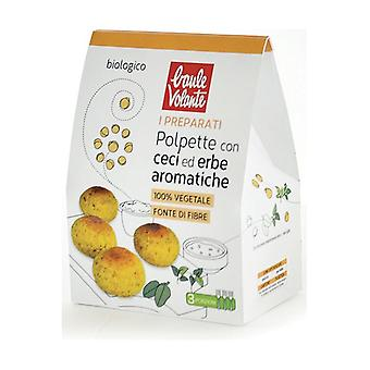 Prepared for meatballs with chickpeas and aromatic herbs 180 g