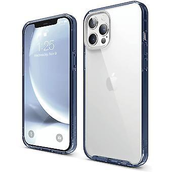 """FengChun Hybrid Clear Case Kompatibel mit iPhone 12 Pro Max Hülle (6,7""""), Durchsichtig, Anti-Gelb"""