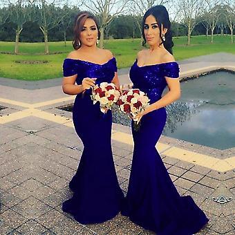Vestidos de dama de honor de sirena de lentejuelas de las mujeres (Set 1)