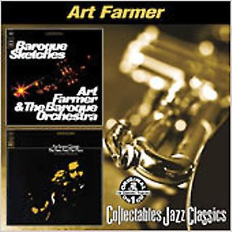 Art Farmer - Baroque Sketches/Time & Place [CD] USA import