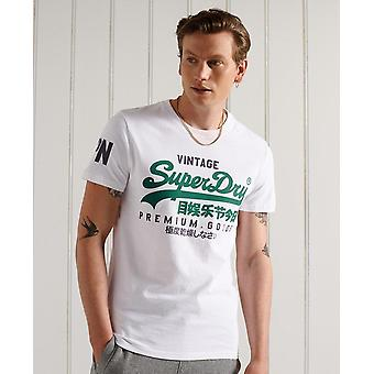 Superdry VL NS TEE Wit