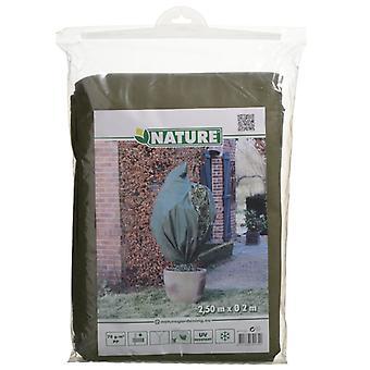 Natuur wintervlies 70 g/m² groen 2x2,5 m