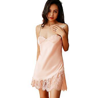 Regenboghorn Sexy Lingerie Nightdress Lace Sling Pajamas Robe Sleepwear D5566