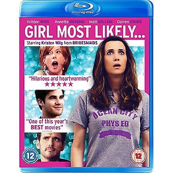 Flicka mest sannolikt Blu-ray