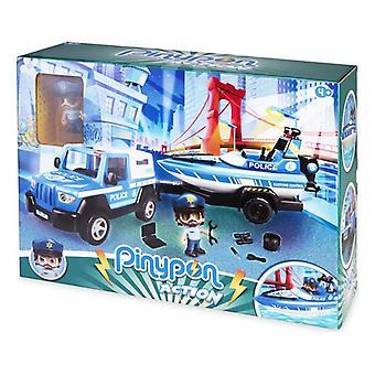 Playset Pinypon Toiminta Poliisi Famosa
