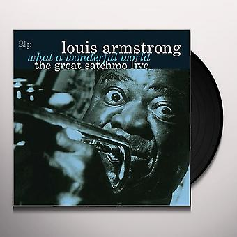 Louis Armstrong - What A Wonderful World: The Great Satchmo Live Vinyl