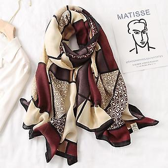 Brand Designer Cotton Scarf
