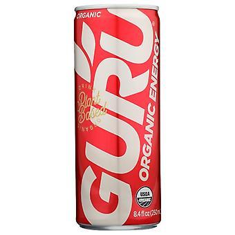 Guru Energy Bev Reglr Org, Case of 24 X 8.4 Oz