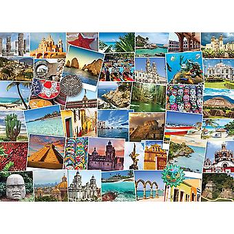 Eurographics Globetrotter Mexico Jigsaw Puzzle (1000 Pieces)