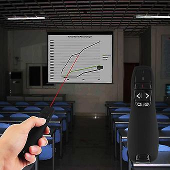 Rf 2.4ghz Wireless Apresentador USB Ponteiro laser de apresentação de controle remoto