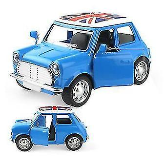 Mini kinderen legering auto, cartoon auto model speelgoed auto (Blauw)