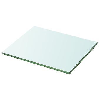 vidaXL Shelf Glass Transparent 20 cm x 25 cm