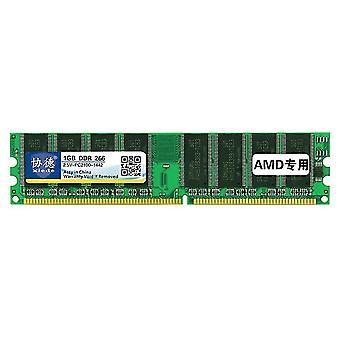 XIEDE X006 DDR 266MHz 1GB General AMD Special Strip Memory RAM Module for Desktop PC