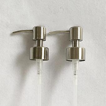 Hand flytande tvålpump dispenser munstycke för badrum kök rostfritt stål skum handfat flytande tvål