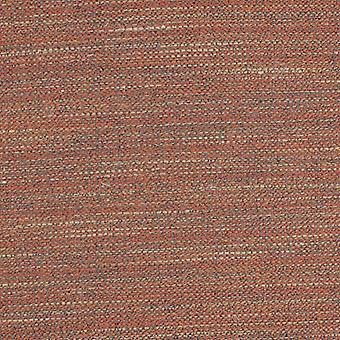 Rideaux unis texturés en terre cuite Hamleton