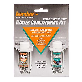 Kordon NovAqua + AmQuel Start Smart Instant Water Conditioning Kit - 1 oz