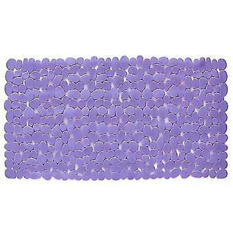 Bath mats rugs rectangle cobblestone bath mat anti-slip cushion for bathroom 88*40cm 88*40cm black