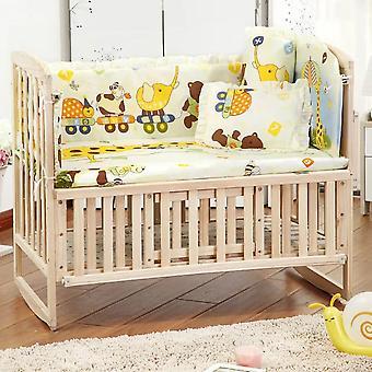 100 * 58cm / 110 * 60cm 5pcs / sett kampanje bomull baby barn sengetøy sett