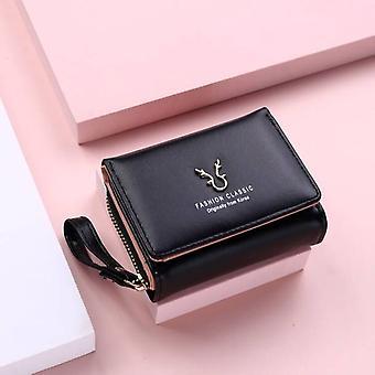 2021 Neue Männer Brieftaschen Kleine Geldbörsen Geldbörsen Neues Design Dollar Preis Top Männer Dünne Brieftasche mit Münztasche Reißverschluss Brieftasche