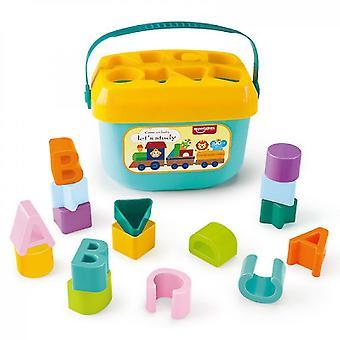 Venalisa Letter Learning Colorful Blocks
