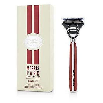 The Art Of Shaving Morris Park Collection Razor - Signal Red - 1pc