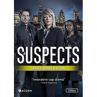 Suspects: Series 3 & 4 [DVD] USA import