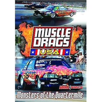 Muscle Drags Usa: Monsters of the Quartermile [DVD] USA import