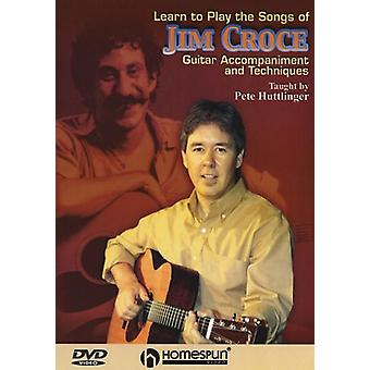 Learn to Play the Songs of Jim Croce - Learn to Play the Songs of Jim Croce - Taught by Pete Huttlinger [DVD] USA import
